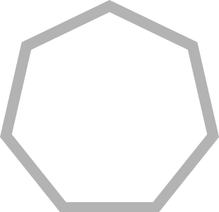 heptagon stroke 几何图形 常用