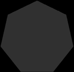 fill heptagon 几何图形 常用