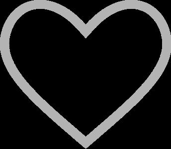 heart stroke 几何图形 常用 心形 心脏