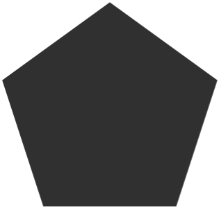 fill pentagon 几何图形 常用