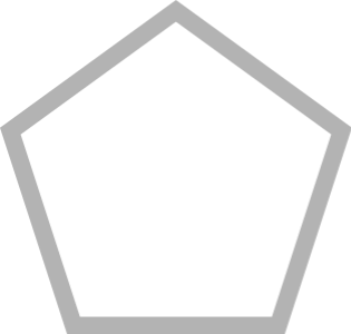 pentagon stroke 几何图形 常用