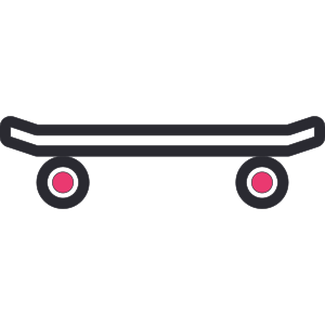 图标 skateboard 常用 icon