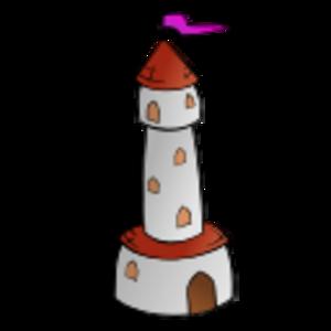building clip art clipart svg public domain tower symbol flag fantasy cartography geography map castle 剪贴画 符号 旗帜 地图 建筑 建筑物