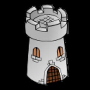 building clip art clipart svg public domain tower colors symbol fantasy cartography geography map stone building castle 剪贴画 符号 地图 建筑 建筑物 彩色