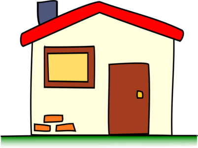 building clip art clipart home house svg residence living openclipart architecture cottage window colorful roof habitat green door chimney red bricks simple small my 剪贴画 绿色 草绿 红色 建筑 建筑物 彩色 房子 屋子 房屋 家 多彩