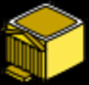 building clip art clipart svg public domain yellow 图标 icons symbol administration 剪贴画 符号 黄色 建筑 建筑物
