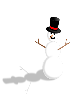 clip art clipart svg black snow winter christmas xmas hat snowman 帽子 剪贴画 黑色 圣诞 圣诞节 冬天 冬季 雪