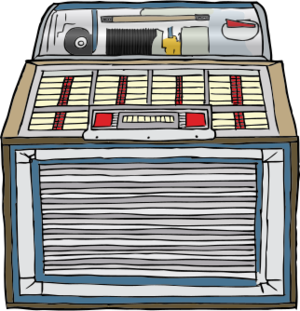 clip art clipart image svg openclipart 45 record album 音乐 vinyl rpm 45 gramophone play old outdated jukebox 剪贴画