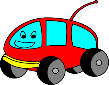 clip art clipart svg openclipart red vehicle drive cartoon van fun driving smiling smile camping camper 剪贴画 卡通 红色 微笑 驾车