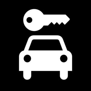 clip art clipart svg openclipart black and white silhouette car transportation vehicle drive driver sign symbol key map symbol aiga aiga bg rent travelers 剪贴画 符号 标志 剪影 黑白 小汽车 汽车 运输 驾车