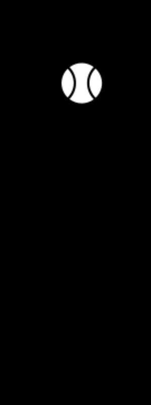 clip art clipart svg openclipart black white silhouette symbol ball 运动 tennis wimbledon racket 剪贴画 符号 剪影 黑色 白色 球