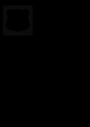 clip art clipart svg openclipart black white 交通 road american usa highway roadsign motorway way inter roadway 剪贴画 标志 黑色 白色 路标 公路 马路 道路 美国