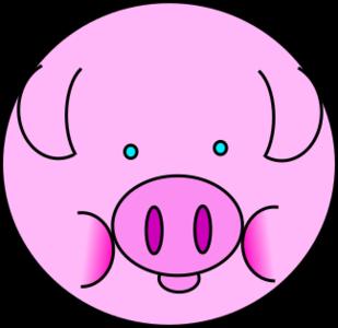 clip art clipart svg openclipart color 动物 money cartoon funny bank fun barn farm pink pig piggy cute comic saving piglet swine 剪贴画 颜色 卡通 货币 金钱 钱 可爱 粉红 粉红色
