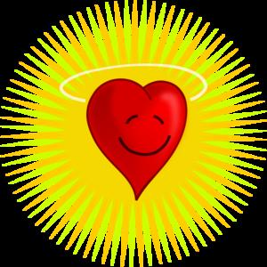 clip art clipart image svg openclipart red yellow 爱情 图标 symbol emotion valentine power sun rays heart shape loving affection word 剪贴画 符号 红色 黄色 情人节 心形 心脏 太阳