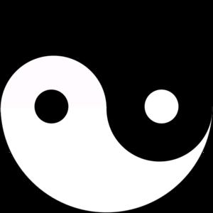 clip art clipart image svg openclipart symbol religion dao tao chinese yin yang balance yang yin asian taoism yinyang 剪贴画 符号 宗教