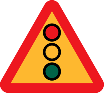 clip art clipart image svg openclipart red 交通 sign warning lights traffic triangle roadsign international rules intersection green light red light traffic lights yellow light 剪贴画 标志 红色 路标 三角形