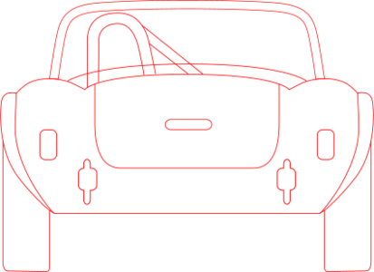 clip art clipart svg openclipart red car transportation vehicle contour outline scheme cobra technical drawing monochrome blueprint diagram shelby back 剪贴画 红色 小汽车 汽车 运输 轮廓