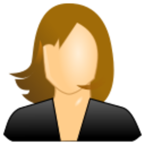 clip art clipart svg openclipart color woman cartoon 图标 sign female 女孩 face hair user faceless 剪贴画 颜色 标志 卡通 女人 女性 头发 毛发