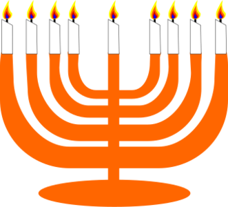 clip art clipart svg openclipart color 图标 holidays orange religion judaism holiday light celebration candles event events occasion occasions blessing hanukkah menorah 剪贴画 颜色 假日 节日 假期 橙色 庆祝 宗教