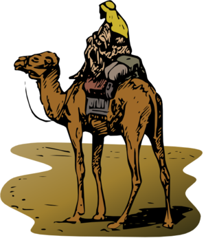clip art clipart svg openclipart color 动物 人物 religion bible person riding desert camel hump sahara 剪贴画 颜色 人类 宗教