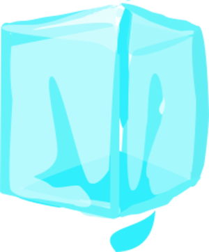 clip art clipart svg openclipart cold cube 食物 household ice ice cube icecube freezer frozen blue 剪贴画 蓝色