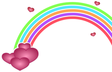 clip art clipart image svg openclipart color 爱情 cartoon sign symbol valentine heart rainbow valentines day valentine heart borderless endless limitless 剪贴画 颜色 符号 标志 卡通 情人节 心形 心脏