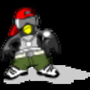 clip art clipart image svg openclipart color 动物 音乐 cartoon penguin shadow character comic dance hip hop rap 剪贴画 颜色 卡通 阴影