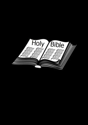 clip art clipart svg openclipart black church silhouette cross paper open religion christianity bible prayer book ceremony ritual biblical creed 剪贴画 剪影 黑色 宗教 书 书本 书籍