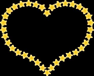 clip art clipart image svg openclipart yellow 爱情 sign symbol valentine romance border stars heart shape star present celebration valentines day romantic borders february 14 love heart valentine heart valentinus feast of saint valentine 剪贴画 符号 标志 黄色 情人节 庆祝 心形 心脏 星星