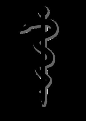 clip art clipart svg black medical medicine hospital clinic doctor sign symbol snake sword wrapped viper 剪贴画 符号 标志 黑色