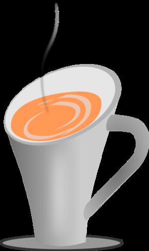 clip art clipart image svg openclipart brown beverage black coffee cup liquid mug esspreso drink hot coffeine greyscale 剪贴画 黑色 饮料 饮品