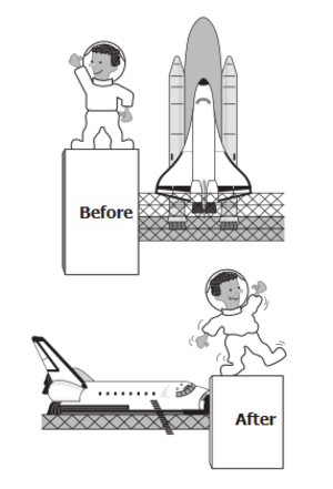 clip art clipart svg openclipart black flying white cartoon science usa space astronomy nasa station before after astronauts outer 剪贴画 卡通 黑色 白色 飞行 美国