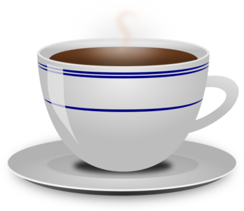 clip art clipart svg openclipart beverage black coffee cup liquid mug drink hot coffeine saucer china ceramic 剪贴画 黑色 饮料 饮品