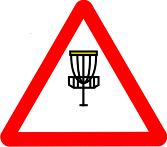 clip art clipart svg openclipart transportation road sign symbol 运动 golf traffic navigate disc golf 剪贴画 符号 标志 运输 公路 马路 道路