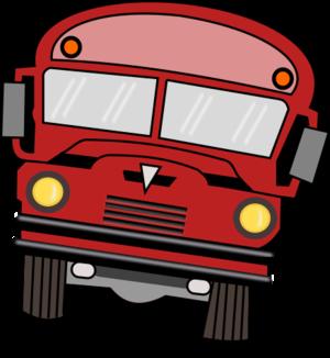 clip art clipart svg openclipart red color 交通 vehicle drive cartoon school fun public passengers bus cars 剪贴画 颜色 卡通 红色 驾车 学校