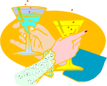 clip art clipart svg openclipart drink color woman man cocktail glass party christmas celebration new year cheers glasses fizzy tost 剪贴画 颜色 男人 女人 女性 圣诞 圣诞节 庆祝 饮料 饮品 派对 宴会 玻璃 新年