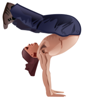 clip art clipart svg openclipart hands man activity body stable arms legs position handstand gymnastics yoga balancing athletic acrobatics cheerleading 剪贴画 男人