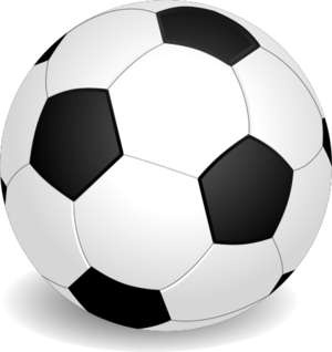 clip art clipart svg openclipart black play white ball football 运动 soccer player training match league champions 剪贴画 黑色 白色 球 足球