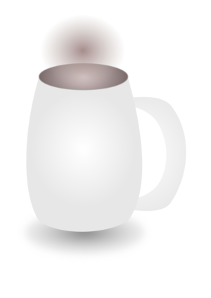 clip art clipart svg openclipart beverage black coffee cup liquid mug drink hot coffeine stain ceramic 剪贴画 黑色 饮料 饮品