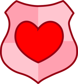 clip art clipart image svg openclipart red 爱情 shield symbol valentine romance man glossy heraldry women battle heart light effect 剪贴画 符号 男人 红色 情人节 心形 心脏