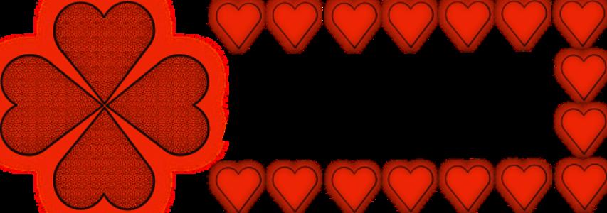clip art clipart svg openclipart red black color 爱情 emotion valentine pattern luck heart shamrock loving affection valentine's 剪贴画 颜色 黑色 红色 情人节 花样 心形 心脏