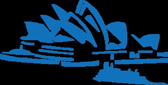 building clip art clipart image svg openclipart blue 音乐 orchestra concert white coast sea landmark opera sydney australia cruiser shoreline operetta 剪贴画 白色 蓝色 海洋 建筑 建筑物