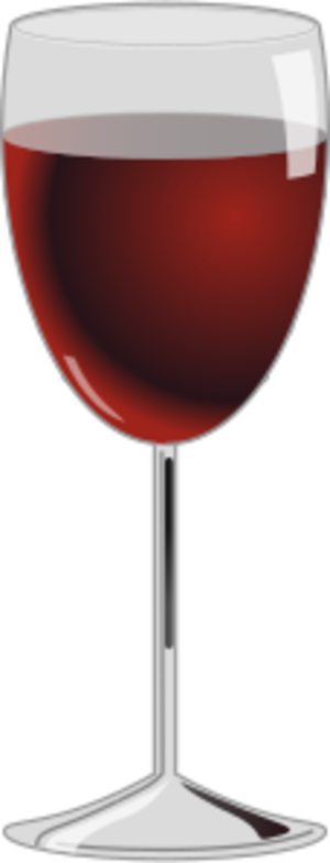clip art clipart svg openclipart red drink alcohol glass photorealistic wine drinking drinkware 剪贴画 红色 饮料 饮品 玻璃