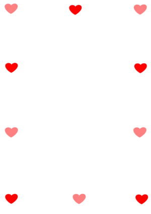 clip art clipart image svg openclipart red 爱情 图标 symbol emotion valentine border heart shape candy loving affection 剪贴画 符号 红色 情人节 心形 心脏