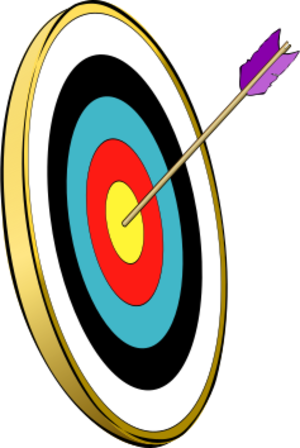clip art clipart svg openclipart color gold man 运动 sports target arrow bow archery archer bowman bullseye 剪贴画 颜色 男人 箭头 黄金 金色