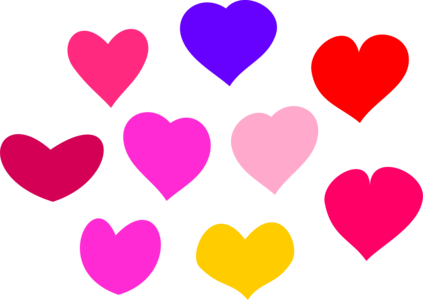 clip art clipart image svg openclipart red yellow 爱情 cartoon 图标 symbol emotion valentine heart pink shape loving affection 剪贴画 符号 卡通 红色 黄色 情人节 心形 心脏 粉红 粉红色