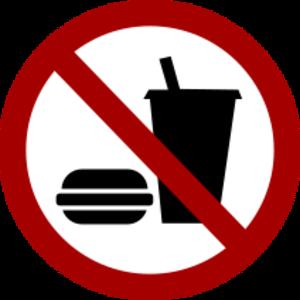 clip art clipart svg openclipart drink 食物 sign symbol warning circle international no satering 剪贴画 符号 标志 圆形 饮料 饮品