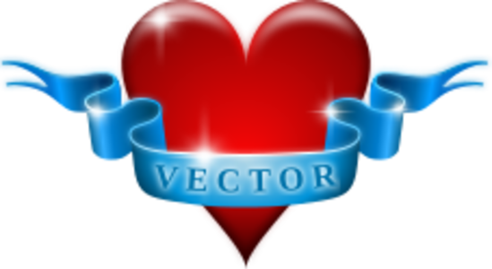 clip art clipart image svg openclipart red blue 爱情 sign symbol valentine heart present ribbon celebration emblem passion vector february 14 valentinus feast of saint valentine 剪贴画 符号 标志 红色 蓝色 情人节 庆祝 心形 心脏 纹章