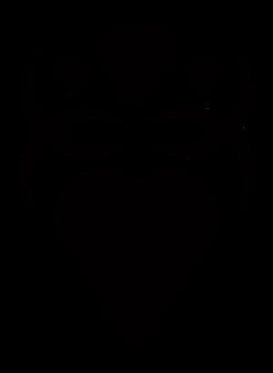 clip art clipart image svg openclipart black 爱情 symbol valentine man glossy shadow women heart present donate 剪贴画 符号 男人 黑色 情人节 阴影 心形 心脏