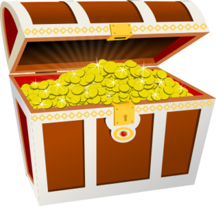 clip art clipart svg openclipart brown color yellow gold money box coins coin rich currency pirate treasure chest glitter case wealth twinkle coinage 剪贴画 颜色 黄色 货币 金钱 钱 黄金 金色